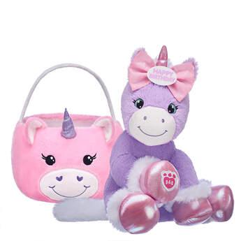Online Exclusive Purple Baby Unicorn Gift Set, , hi-res