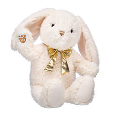 Online Exclusive Snuggly Bunny with Gold Bow, , hi-res