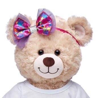 Honey Girls Colourful Stars Bow Headband - Build-A-Bear Workshop®