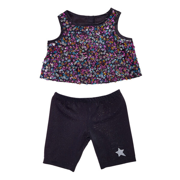 Honey Girls Sequin Top & Pant Set 2 pc., , hi-res