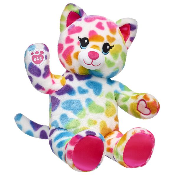 This soft kitten brings the colorful cuteness by having special paw pads that can attach to the paws of other Rainbow Friends animals – so your furry friends can hug and hang out together! Outfit this furry friend online to make the perfect gift. Shop online or visit a store near you!