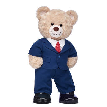 Happy Hugs Teddy Business Suit Gift Set, , hi-res