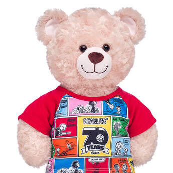 Online Exclusive Peanuts® 70th Anniversary T-Shirt - Build-A-Bear Workshop®