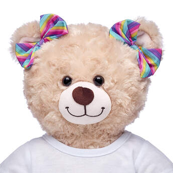 Rainbow Stripe Ear Bows - Build-A-Bear Workshop®