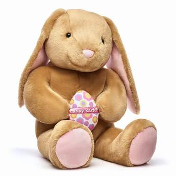 Go BIG for their baskets! Jumbo Pawlette™ is a super-sized bunny that's perfect for adding big hugs to your Easter festivities. Plus, she's holding a cute Easter egg, too! <p>Price includes:</p>  <ul>  <li>Jumbo Pawlette™</li>  <li>Jumbo Easter Egg</li> </ul>