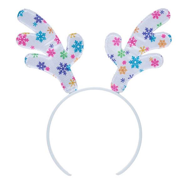Snowflake Antlers Headband - Build-A-Bear Workshop®