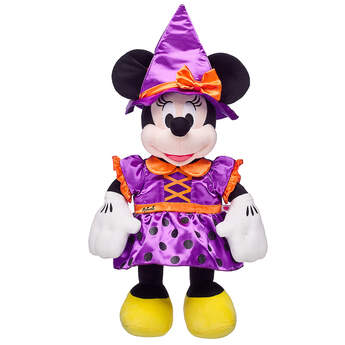Online Exclusive Disney Minnie Mouse Witch Costume - Build-A-Bear Workshop®