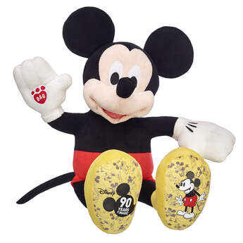 90th Anniversary Disney Mickey Mouse - Build-A-Bear Workshop®