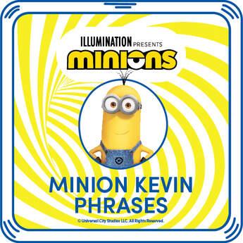 Minion Kevin Phrases - Build-A-Bear Workshop®