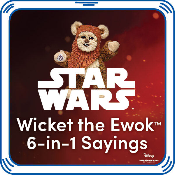 Star Wars™ Wicket the Ewok™ 6-in-1 Sound, , hi-res