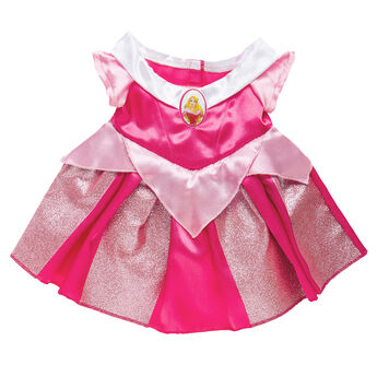 Dress your furry friend as Princess Aurora with the beautiful pink dress! The bear size Aurora Costume is a beautiful gown with a Sleeping Beauty cameo.