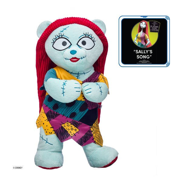 Sally Plush Doll from Disney Tim Burton's The Nightmare Before Christmas - Build-A-Bear Workshop®