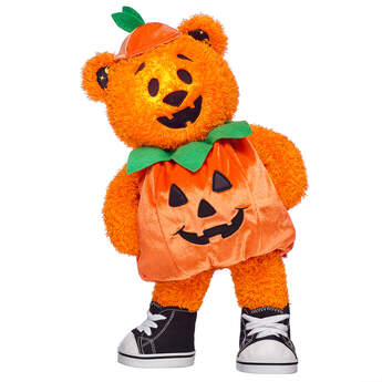 Pumpkin Glow Bear Costume Gift Set, , hi-res