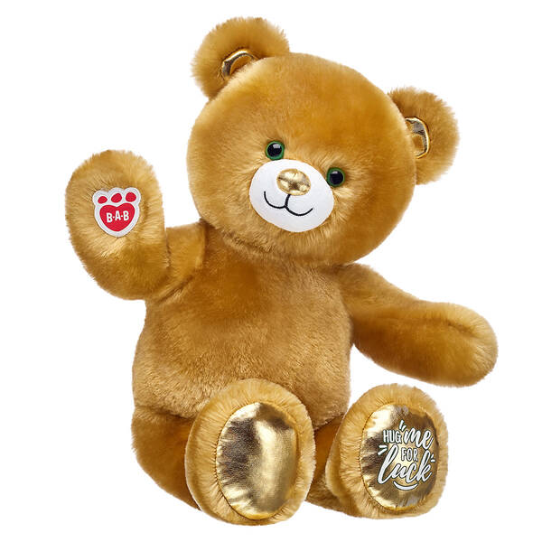 Online Exclusive Lucky Hugs Bear - Build-A-Bear Workshop®