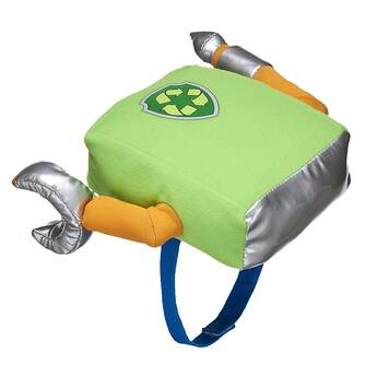 Green means go! Rocky's pup pack has a mechanical claw with lots of room to hold his various tools. © 2017 Spin Master PAW Productions Inc. All Rights Reserved. PAW Patrol and all related titles, logos and characters are trademarks of Spin Master Ltd. Nickelodeon and all related titles and logos are trademarks of Viacom International Inc.