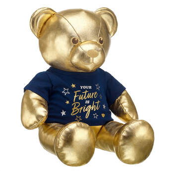 Online Exclusive Gift of Gold Bear Graduation Gift Set, , hi-res