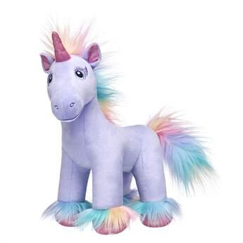 purple unicorn stuffed animal