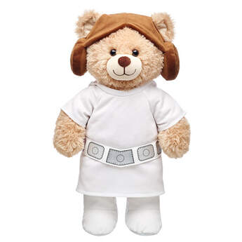 Princess Leia makes the perfect gift for Star Wars fan. That famous hairdo, along with a hooded top and boots, will make any furry friend into a galactic princess. © & ™ Lucasfilm Ltd.