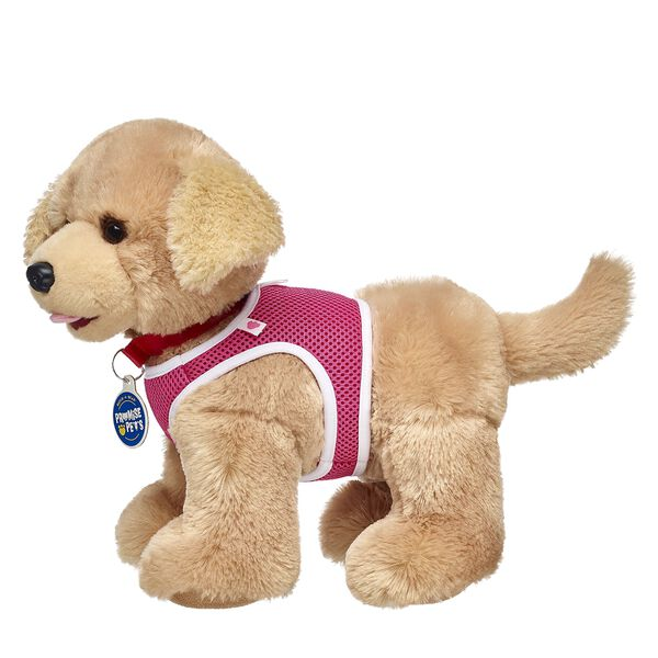 Now you can train and play with your Promise Pets in this pet-sized pink harness! Don't forget to add a leash so you can walk your furry friend! Personlize a furry friend to make the perfect gift. Shop online or visit a store near you!