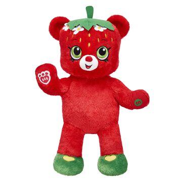 Strawberry Kiss Bear, , hi-res