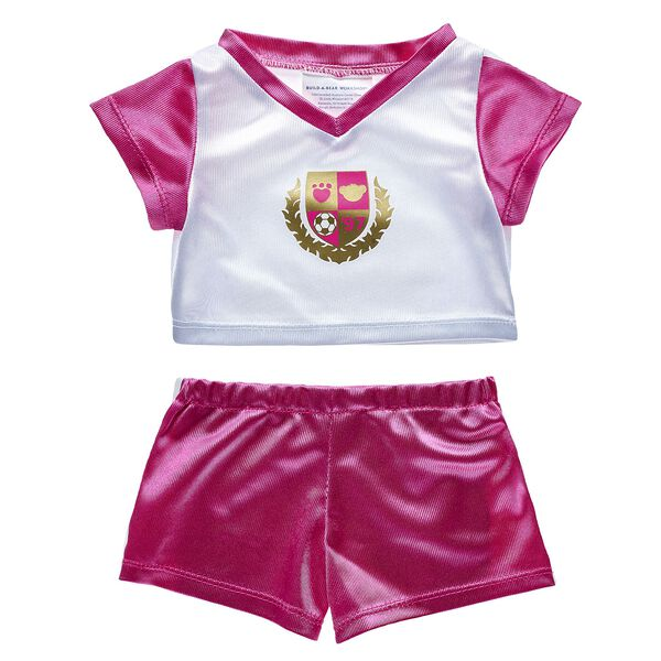 Pink & White Football Kit 2 pc., , hi-res