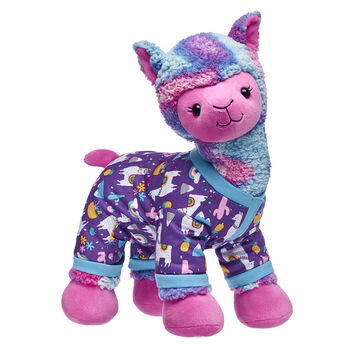 llama stuffed animal with sleeper gift set