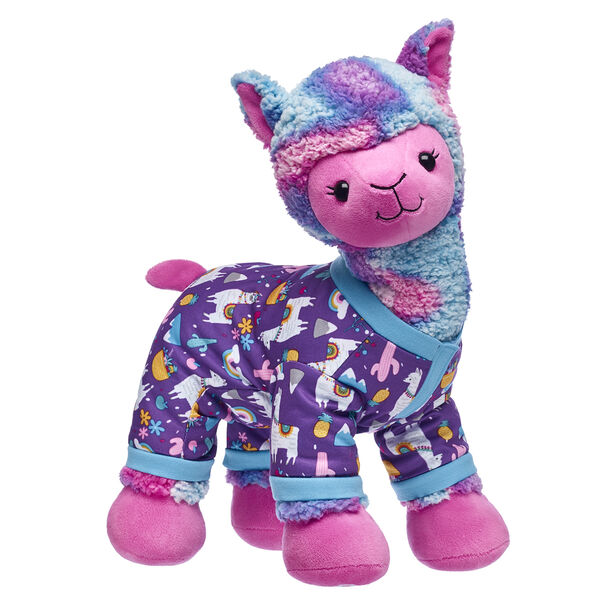 llama stuffed animal with sleeper gift set