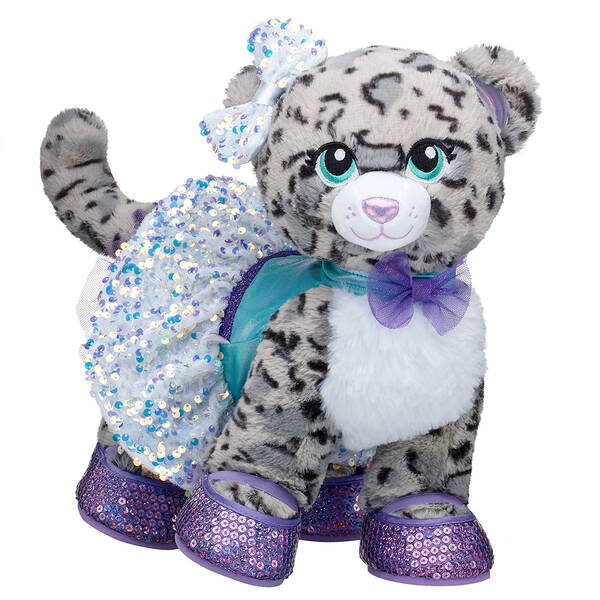 Snow Sparkle Leopard Gift Set, , hi-res