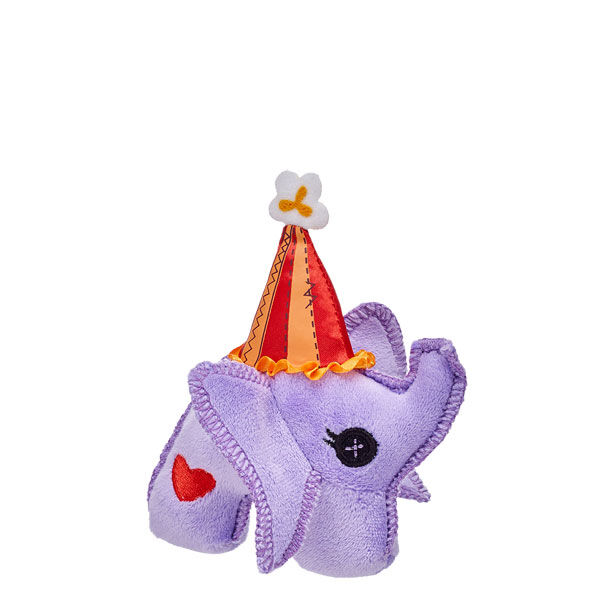 Lalaloopsy™  Elephant always stay close to its best friend, Peanut Big Top™. Take this Lalaloopsy Elephant accessory home today! © MGA Note: This item cannot be purchased unstuffed, nor can stuffing adjustments be made. A sound or scent cannot be placed inside this pre-stuffed item.