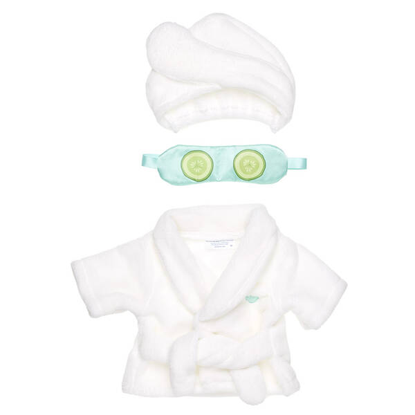Online Exclusive Spa Robe Set - Build-A-Bear Workshop®