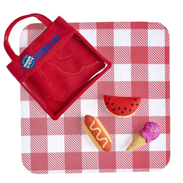 Have fun in the sun with this 5 pc. Promise Pets™ Picnic Set! Outfit a furry friend online to make the perfect gift. Free Shipping on orders over $45.