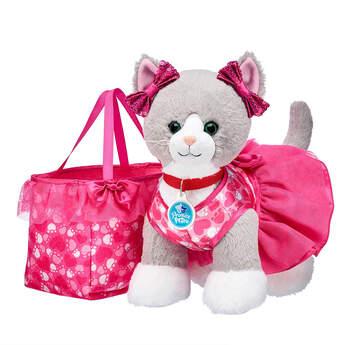 Promise Pets™ Grey Cat Pink Purse Gift Set, , hi-res