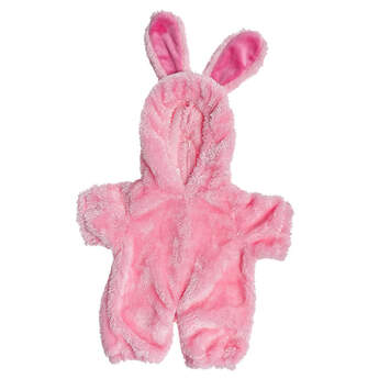 Get ready for a hoppin' good time with this adorable bunny costume that's perfectly sized for your furry friend! With super soft pink fur, this full body bunny costume has openings for your furry friend's face, hands and feet. Featuring dark pink bunny ears, it's a cute and cuddly look for springtime!