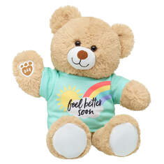 Online Exclusive Cuddly Brown Bear Feel Better Soon Gift Set, , hi-res