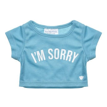 Online Exclusive I'm Sorry T-Shirt - Build-A-Bear Workshop®