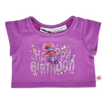 DreamWorks Trolls Birthday T-Shirt - Build-A-Bear Workshop®