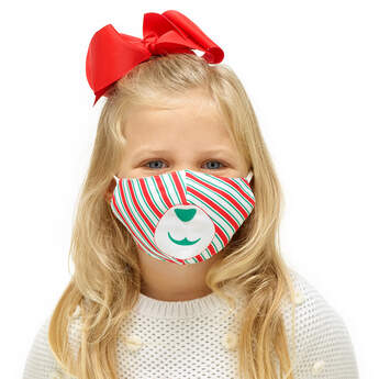 Child-Size Christmas Face Mask - Build-A-Bear Workshop®
