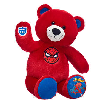 Spider-Man Inspired Bear - Build-A-Bear Workshop®
