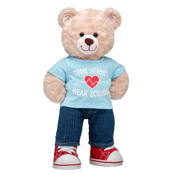 Online Exclusive Happy Hugs Teddy Scrubs Gift Set, , hi-res