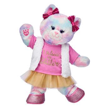Pastel Swirl Kitty Glitter Gift Set, , hi-res