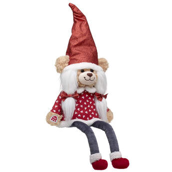 Online Exclusive Red Sparkle Bear Gnome - Build-A-Bear Workshop®