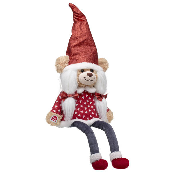 Online Exclusive Red Sparkle Bear Gnome - Build-A-Bear Workshop®