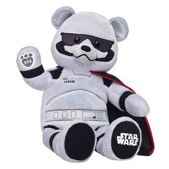 Get ready to lead the stormtroopers by making your own Captain Phasma Bear! This epic furry friend features her built-in uniform and makes a perfect gift.
