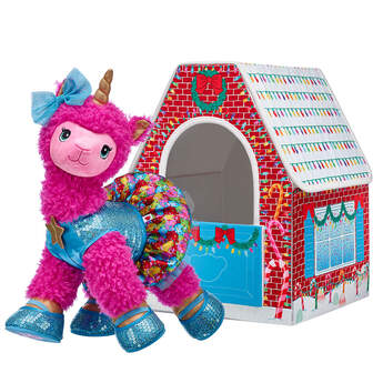 Pink Sparkle Llamacorn Snow Much Fun House Gift Set, , hi-res