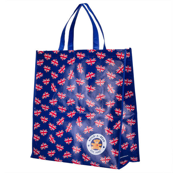 Union Jack Bear Mini Shopping Bag - Build-A-Bear Workshop®