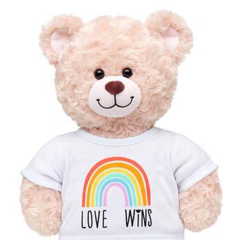 Online Exclusive Love Wins T-Shirt - Build-A-Bear Workshop®