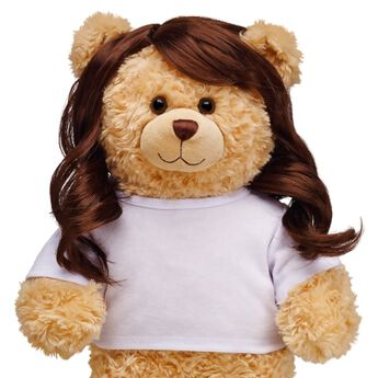 Teddy bear size brown wig is perfect for dress up, costumes and more!