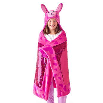 Llama Big Hugs Blanket - Build-A-Bear Workshop®