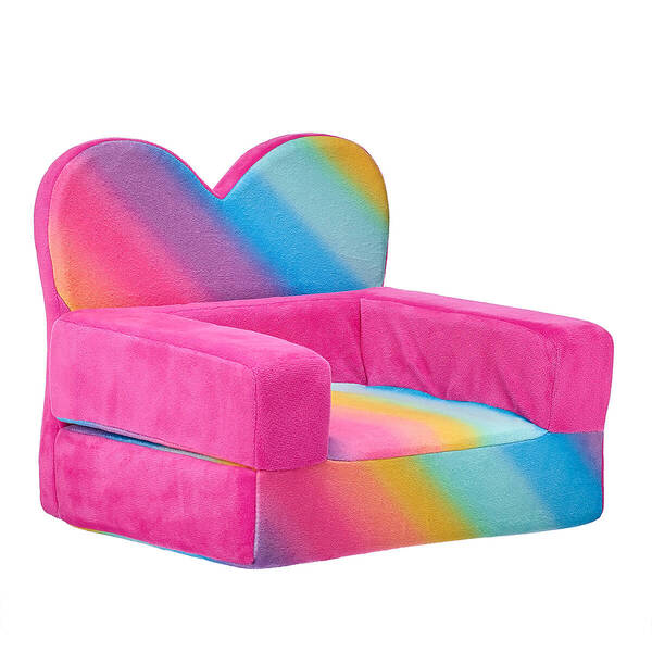 Rainbow Heart Chair Bed - Build-A-Bear Workshop®