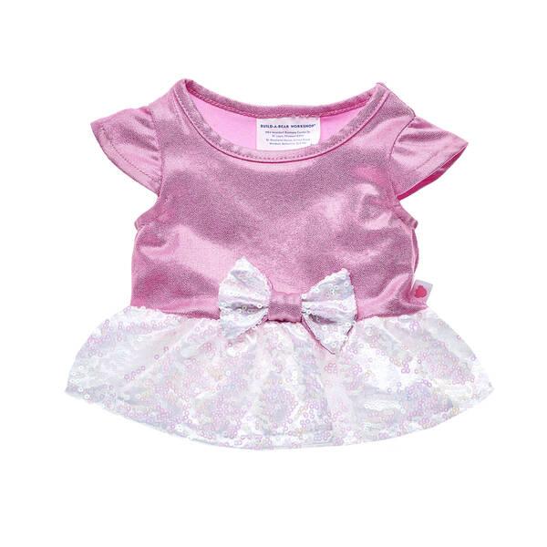2debf78ed1 Pink Sequin Sparkle Dress
